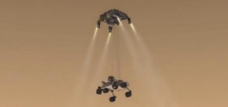 Этапы миссии марсохода Curiosity