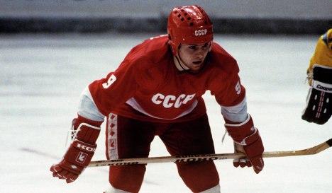 Владимир Крутов - двукратный олимпийский чемпион (1984, 1988), обладатель Кубка Канады (1981) и пятикратный чемпион мира (1981-1983, 1986, 1989)